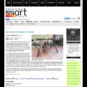 Aboriginal Art Directory: Dennis Nona Emerges in Hobart