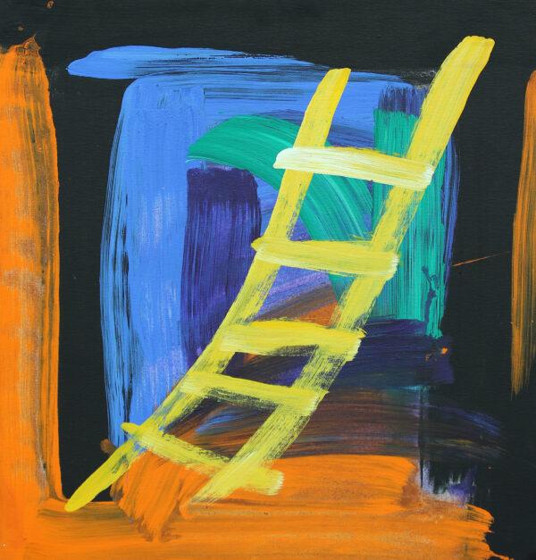 Painting by Heather Anjolu Umbagai