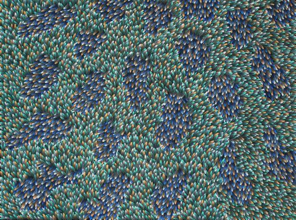 Bush Medicine Leaves by Abie Loy Kemarre