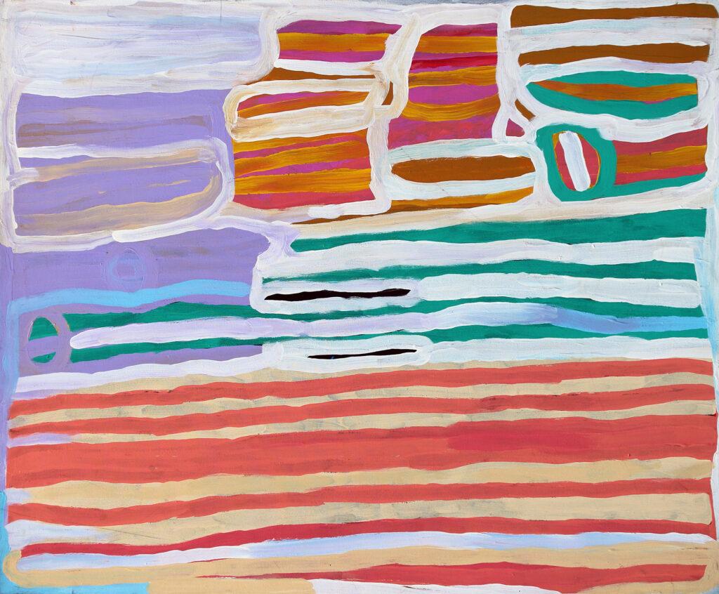 Painting by Anmanari Brown
