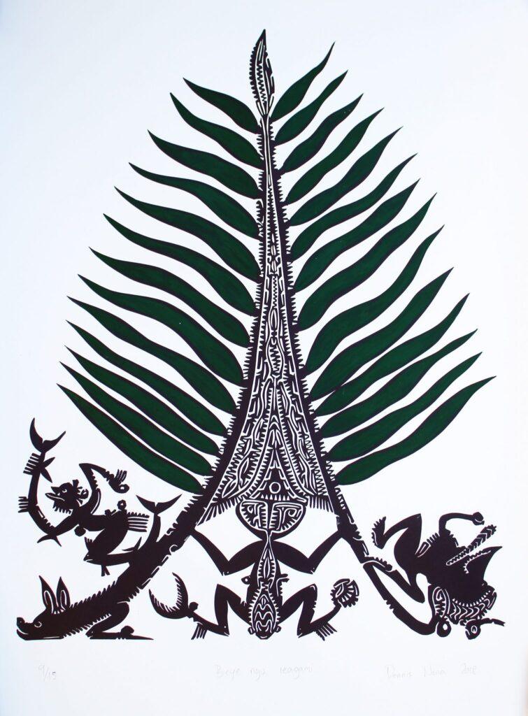 Urrabau Bei-Iew Ngu Iaggami by Dennis Nona