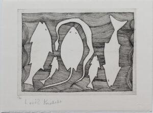 Fish Stringray & Snake by Louis Karadada