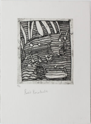 Coolamon, Dancing Bradshaw & Waterholes by Rosie Karadada