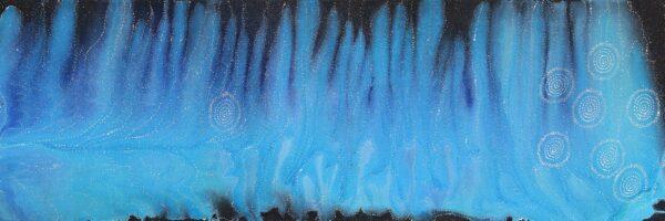 Sevens Sisters Dreaming painting by Athena Nangala Granites