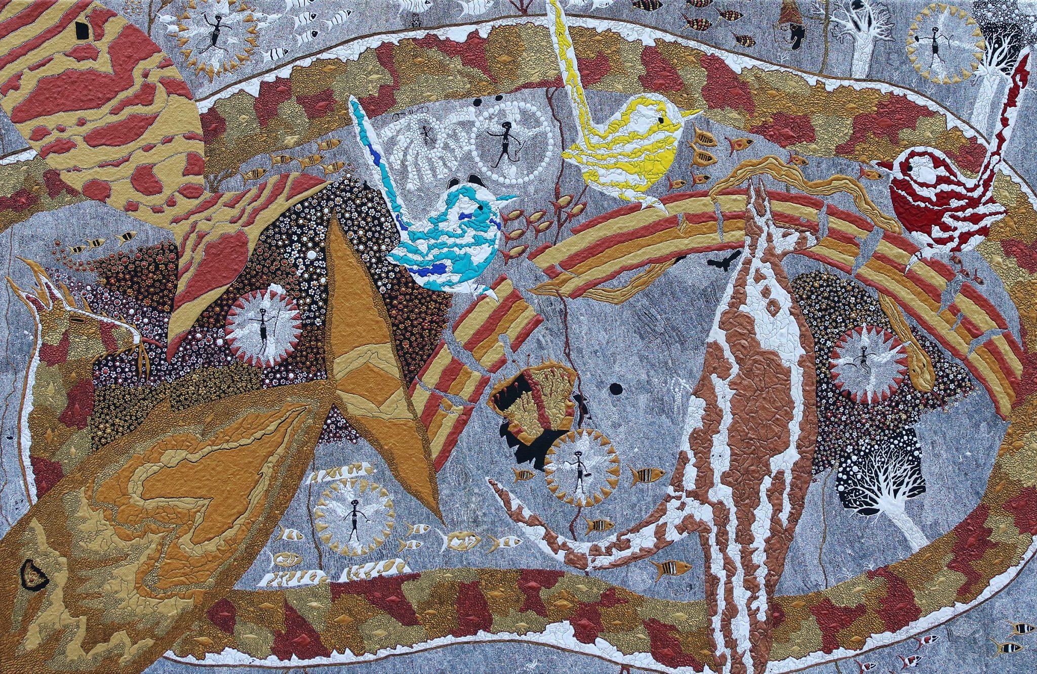 Aboriginal art by Cameron Ross Kemarre