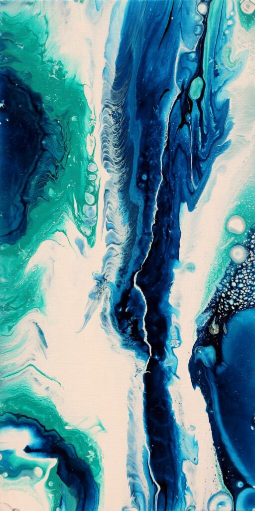 Cobalt Abyss by Julian Oates