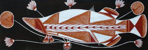 Namarnkol (Barramundi) by Graham Badari
