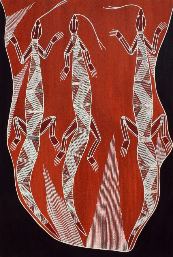 Kalawan (Goanna) by Thommo Nganjmirra