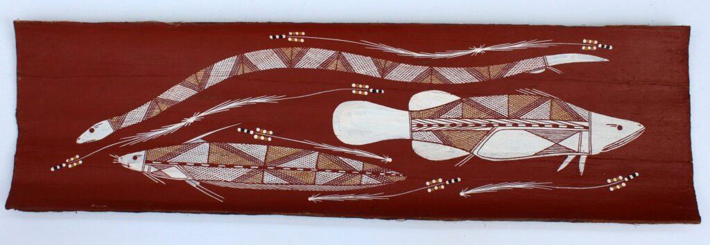 Kulabbarl (Billabong) by Matthew Maralngurra
