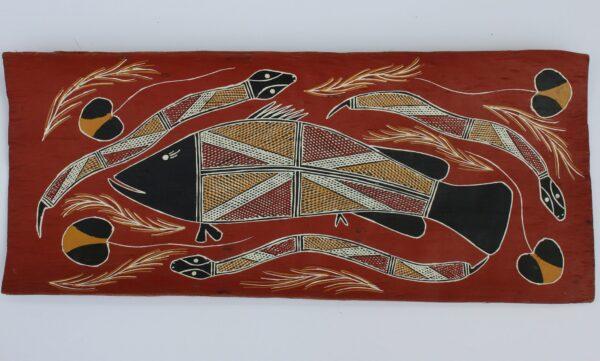 Namarnkol (Barramundi) by Ruth Nalorlman