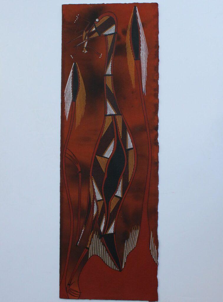 Djakarna (Jabiru) by Ezariah Kelly
