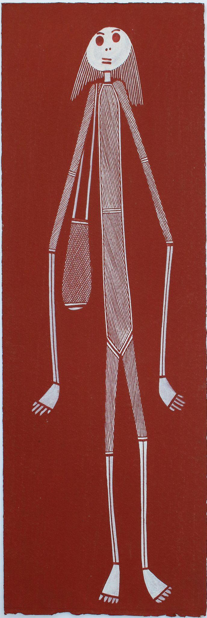 Mimih Spirit by Isaiah Nagurrgurrba