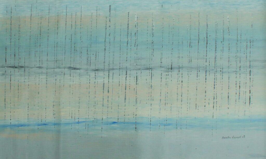 Early Morning Stinging Rain 1 by Rosella Namok