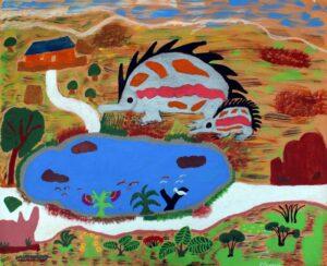 Minya Kaoma - Echidna by Evelyn Omeenyo