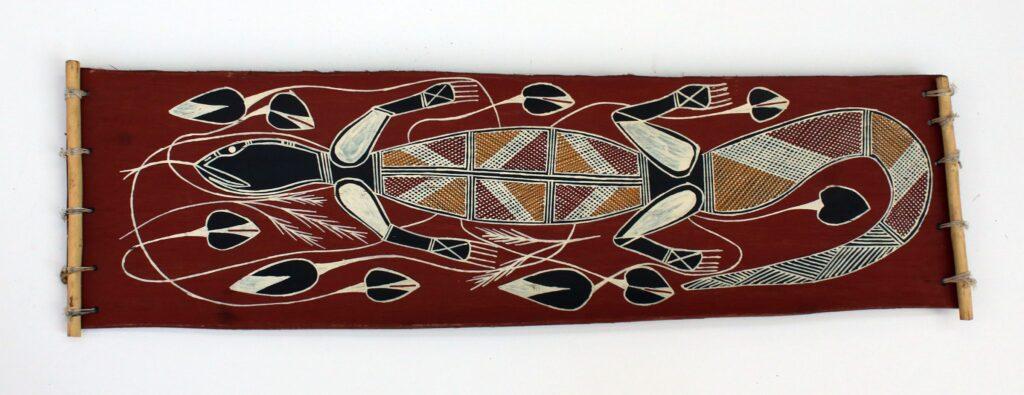 Kalawan (Goanna) by Willie Nabulwad