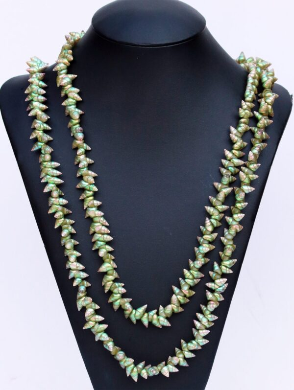 Green Maireener Shell Necklace By Lola Greeno