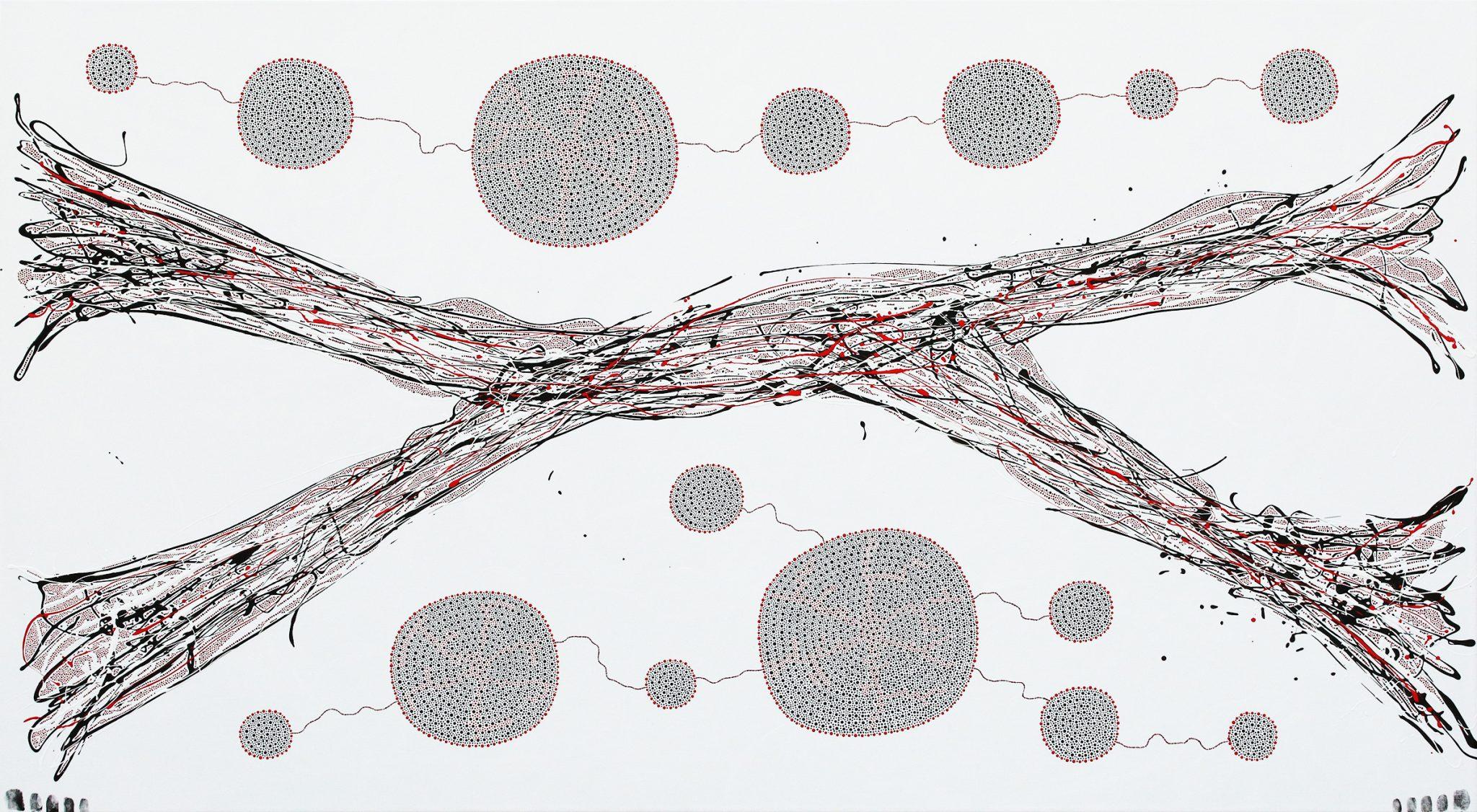 Quela's Mycelium Network by Julian Oates