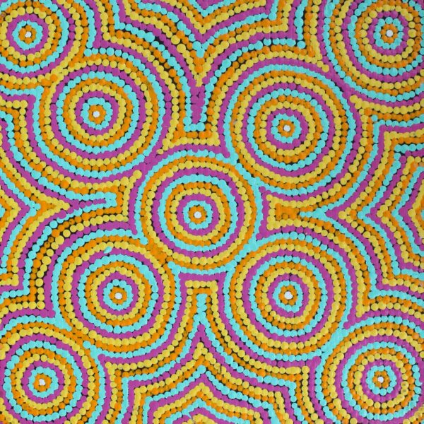 Nguru Yurntumu-Wana (Country Around Yuendumu) by Cecilia Napurrurla Wilson