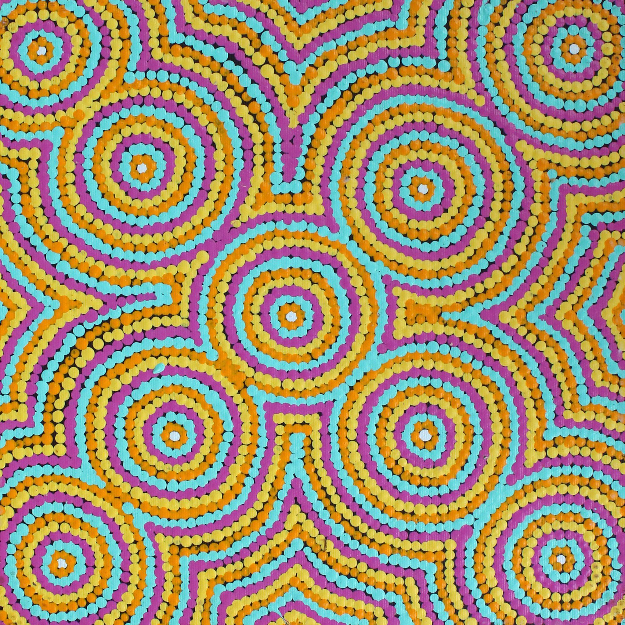 Nguru Yurntumu-Wana (Country Around Yuendumu) by Cecilia Napurrurla Wilson