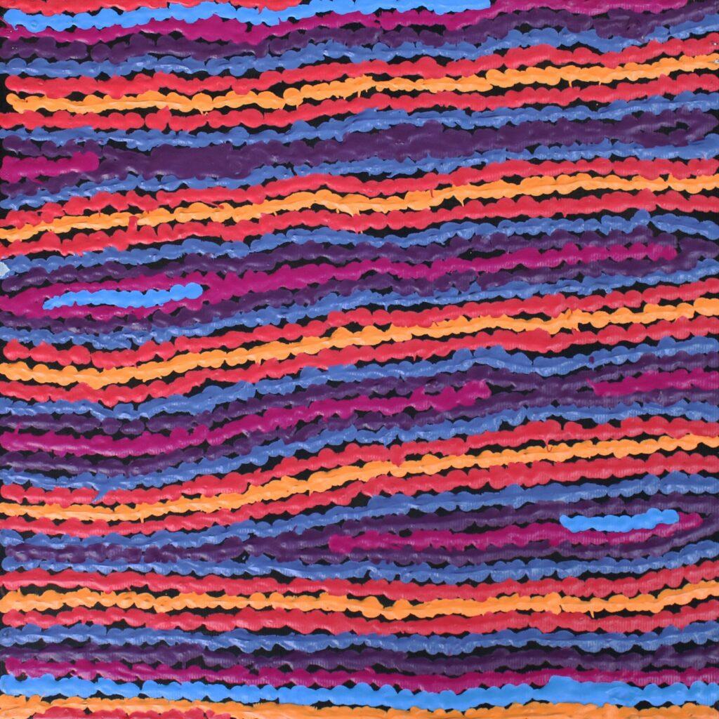 Lappi Lappi Jukurrpa (Lappi Lappi Dreaming) by Christine Napanangka Michaels