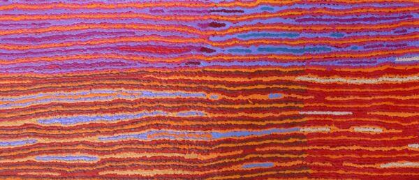 Lappi Lappi Jukurrpa (Lappi Lappi Draming) by Christine Napanangka Michaels