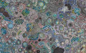 My Country by Janet Golder Kngwarreye