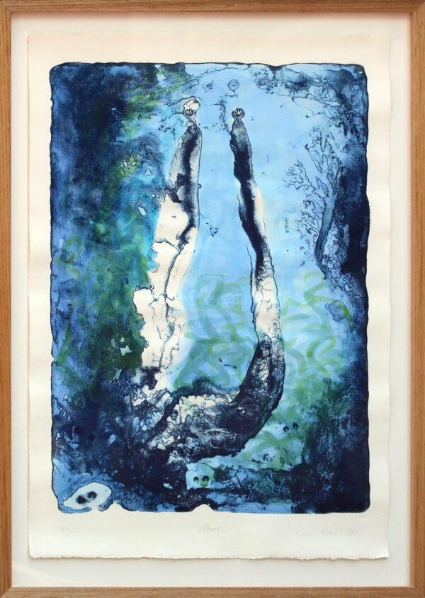 Uburr #T/P, Framed by Dennis Nona