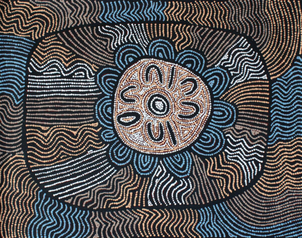Kungka Tjukurpa 'Women's Dreamings' by Yalti Napangarti