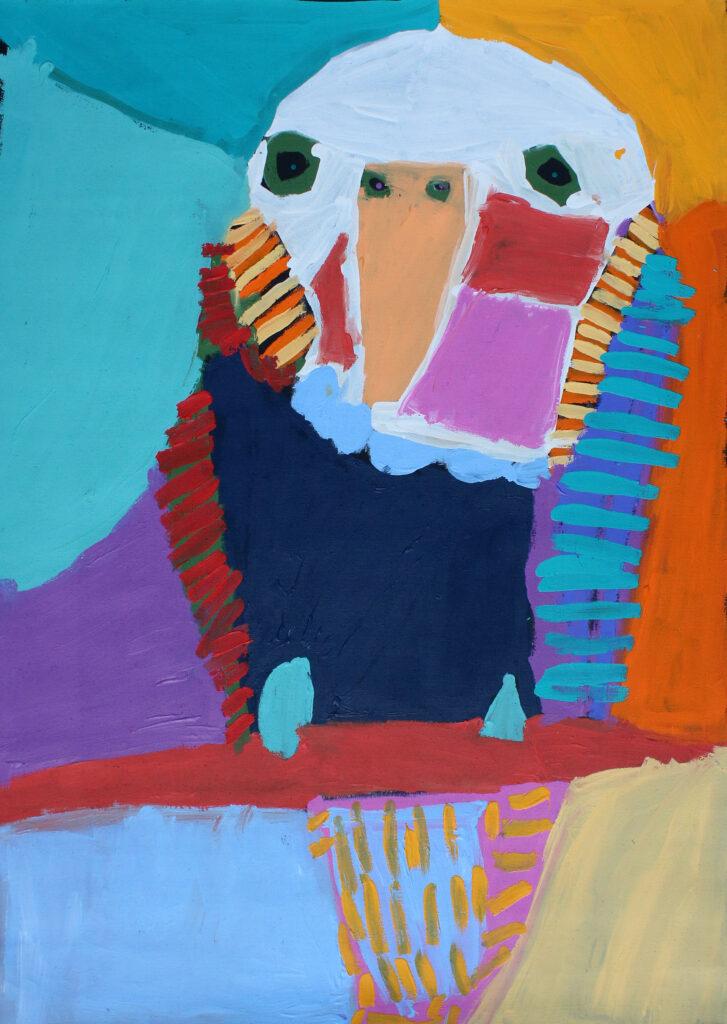 Budgerigar by Karen Barnes