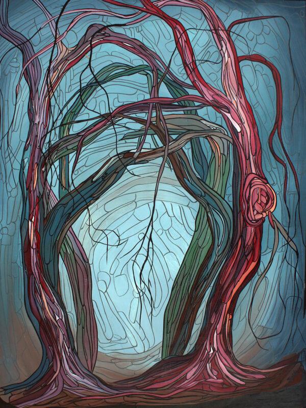Marrawuk (Dry Season) by Helen McCarthy Tyalmuty