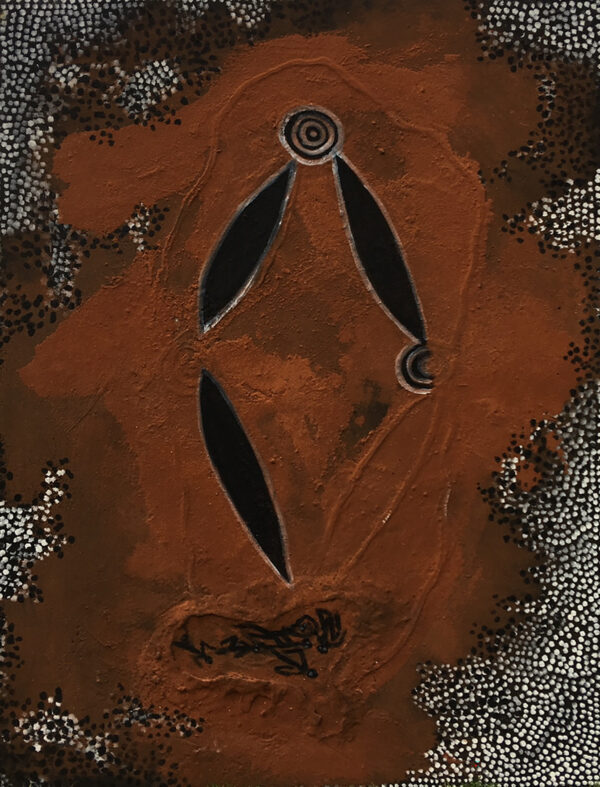 Maralinga Atomic Test by Jonathan Kumintjarra Brown