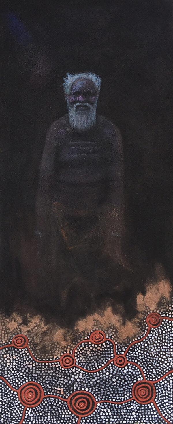 Portrait Jack May - JKB's Grandfather by Jonathan Kumintjarra Brown