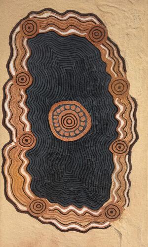 Oldea Soak - Ceremonial Site by Jonathan Kumintjarra Brown