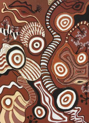 Bloodwood Tree Story by Jonathan Kumintjarra Brown