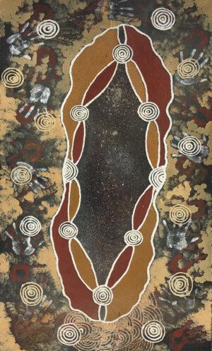 Milky Way by Jonathan Kumintjarra Brown