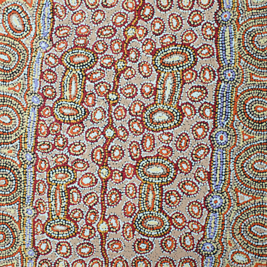 Seven Sisters, Minyma Inmaku by Michelle Butler Nakamarra
