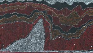 Ngapa Jukurrpa (Water Dreaming) Pirlinyarnu by Julie Nangala Robertson