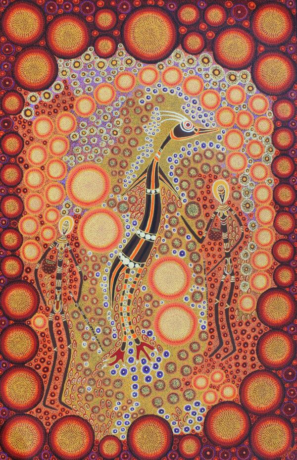 Emu Man Dreaming by Zita Pengarte Wallace