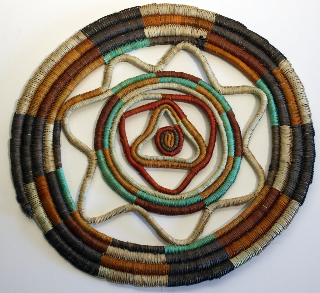 Weaving Mat by Susan Wanji Wanji