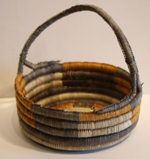Weaving Basket by Susan Wanji Wanji
