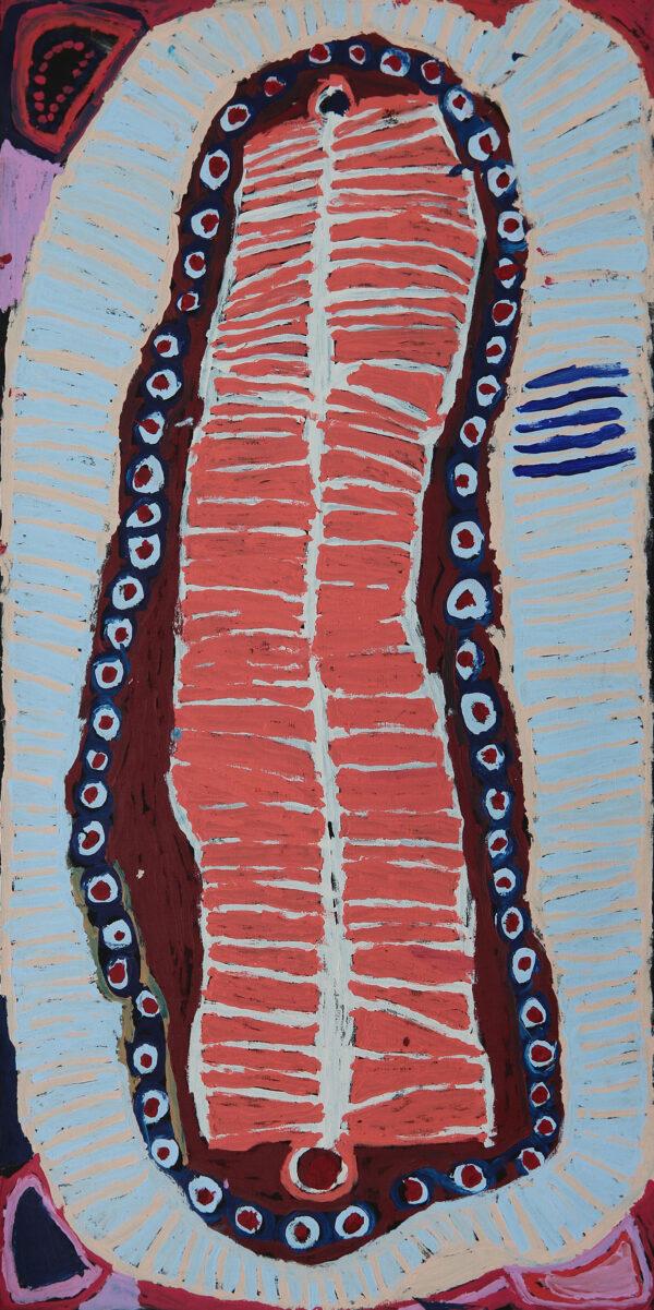 Painting by Murdie Nampijinpa Morris