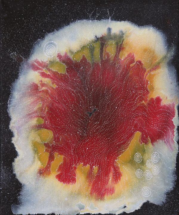 Napaljarri-Warnu Jukurrpa (Seven Sisters Dreaming) by Athena Nangala Granites