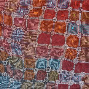 Karnta Jukurrpa (Womens Dreaming) by Carol Nampijinpa Larry