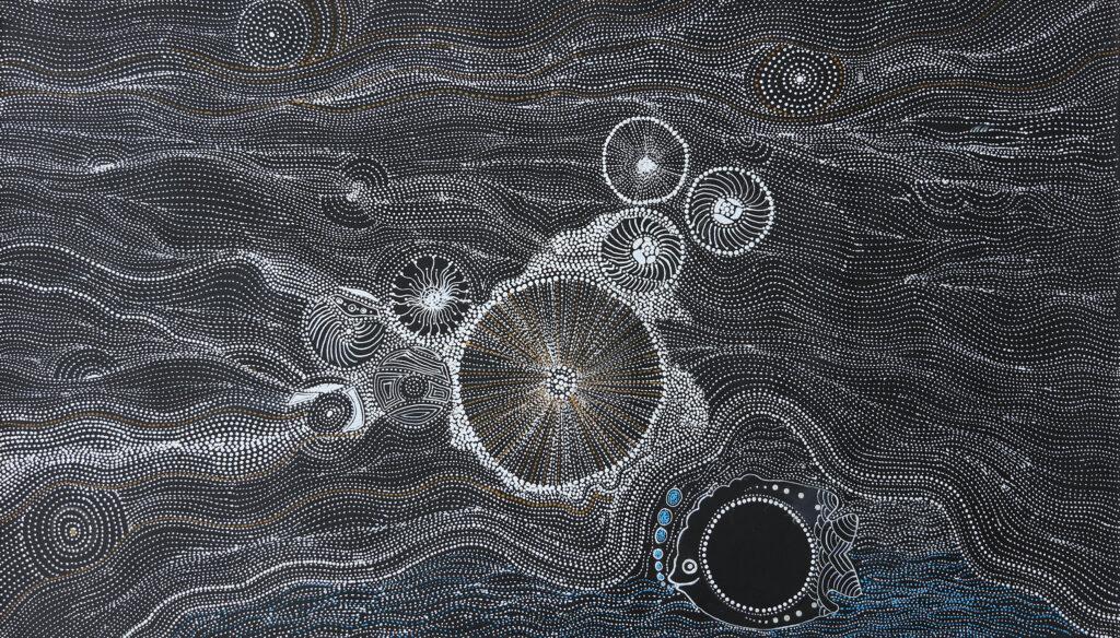 Mina Mina Dreaming by Elsie Napanangka Granites