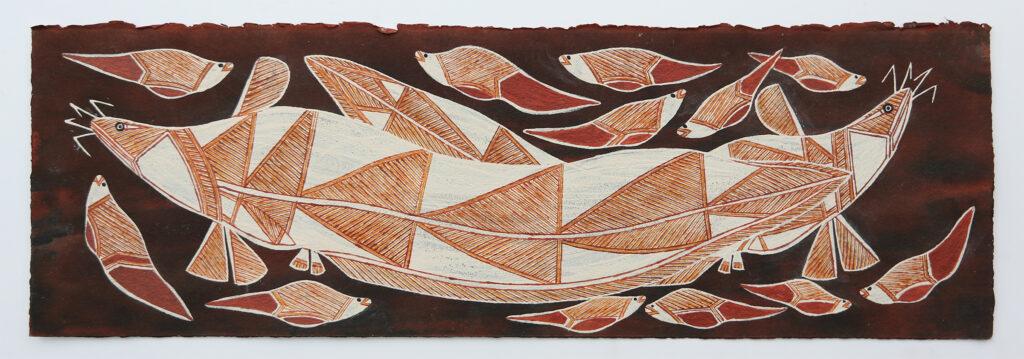 Namardaka (Eel-tailed Catfish) by Graham Badari