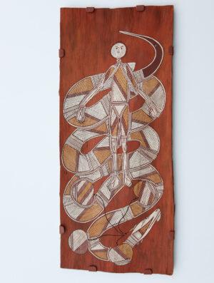 Milarrangkudj (Water Python Story) by Joey Nganjmirra
