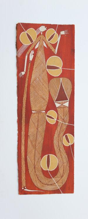 Yawkyawk Story by Roland Burrunali