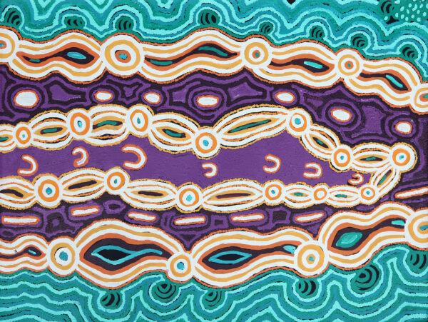 Kungkarrangkalpa (Seven Sisters) by Jennifer Nginana Mitchell