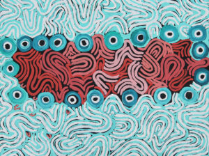 Kumgkarrangkalpa (Seven Sisters) by Anawari Mitchell