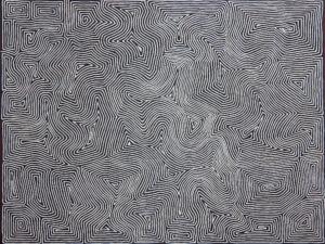 Tingari by George Tjungurrayi